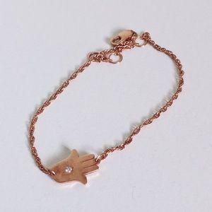 Jewelry - Diamond Hamsa Bracelet